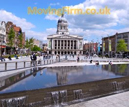 moving services in Nottingham